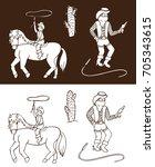 illustration on white and dark...   Shutterstock .eps vector #705343615