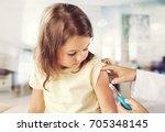 vaccine.   Shutterstock . vector #705348145
