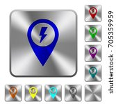 fast aproach gps map location... | Shutterstock .eps vector #705359959