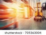 building materials warehouse ... | Shutterstock . vector #705363004