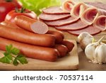 Sausages And Meat
