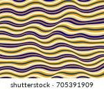 abstract stripes wave ripple... | Shutterstock .eps vector #705391909