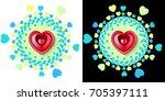 vector image illustration of...   Shutterstock .eps vector #705397111
