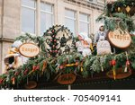 dresden  germany  december 19 ... | Shutterstock . vector #705409141