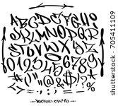 hand written graffiti font...
