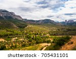 parc natural els ports | Shutterstock . vector #705431101