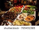 tasty food | Shutterstock . vector #705451585