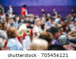 blurred background business... | Shutterstock . vector #705456121