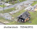 rockport  texas   august 28 ... | Shutterstock . vector #705463951