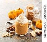 Pumpkin Spice Latte In A Glass...