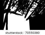 Abandoned Broken Barn Gate And...