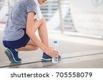 healthy lifestyle fitness... | Shutterstock . vector #705558079