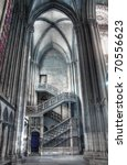 Rouen Gothic Cathedral  Hdr...