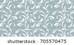 floral seamless pattern. frosty ...