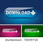 web download icon  includes... | Shutterstock .eps vector #70559710