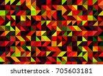 dark green  red vector abstract ... | Shutterstock .eps vector #705603181