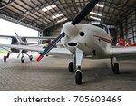 small private lightweight... | Shutterstock . vector #705603469