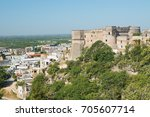 panoramic view of massafra.... | Shutterstock . vector #705607714