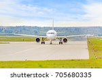 Airplane On Runway Before...