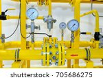 pressure meters on natural gas