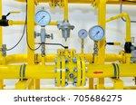 Pressure Meters On Natural Gas...