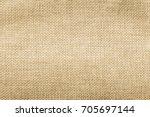 jute hessian sackcloth natural... | Shutterstock . vector #705697144