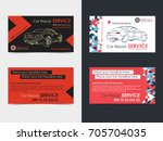 set of automotive service... | Shutterstock .eps vector #705704035