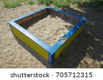 sandbox on the playground | Shutterstock . vector #705712315