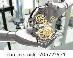 robots   artificial... | Shutterstock . vector #705722971