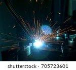 welding machine | Shutterstock . vector #705723601