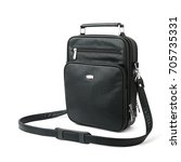 black male bag for accessories  ... | Shutterstock . vector #705735331