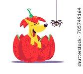 vector flat cartoon... | Shutterstock .eps vector #705749164