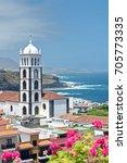 tenerife garachico | Shutterstock . vector #705773335