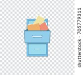 flat vector icon   illustration ... | Shutterstock .eps vector #705779311