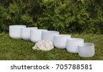 crystal singing bowls for... | Shutterstock . vector #705788581