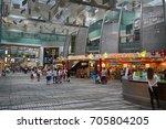 singapore   23 aug. 2017  ... | Shutterstock . vector #705804205