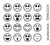 big smiley  | Shutterstock .eps vector #705812215