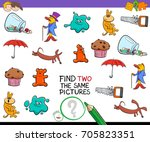 cartoon vector illustration of... | Shutterstock .eps vector #705823351