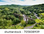 view of the rosendale  ny ... | Shutterstock . vector #705838939