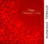 nice valentine background with... | Shutterstock .eps vector #70584124