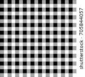 gingham plaid. checkered... | Shutterstock .eps vector #705844057