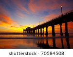 slow exposure of a spectacular... | Shutterstock . vector #70584508