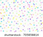 Abstract Multicolored Confetti...
