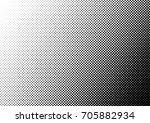 halftone fade gradient... | Shutterstock .eps vector #705882934