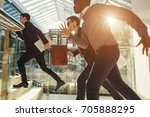 photo of energetic business... | Shutterstock . vector #705888295