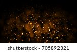 gold abstract bokeh background. ... | Shutterstock . vector #705892321