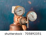 valve of gas cylinders in a