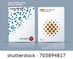 design of business vector... | Shutterstock .eps vector #705894817