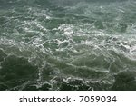turbulent water surface at... | Shutterstock . vector #7059034