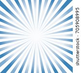 abstract hard blue white rays... | Shutterstock .eps vector #705908995